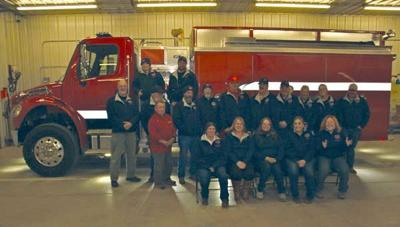 Lake George Fire Protection District firefighting team members