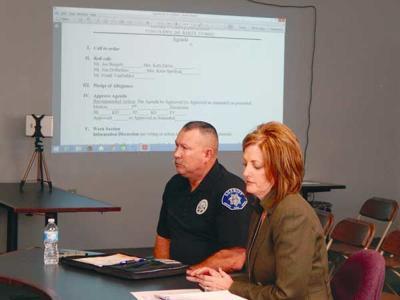 Krage and Sheriff Wegener Discuss Safety