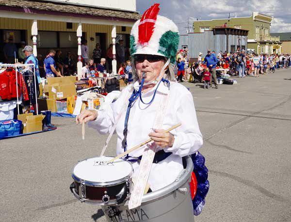 Drum major commands ladle ladies corp