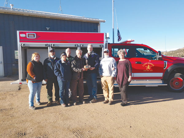 Lake George Fire Protection gets new vehicle