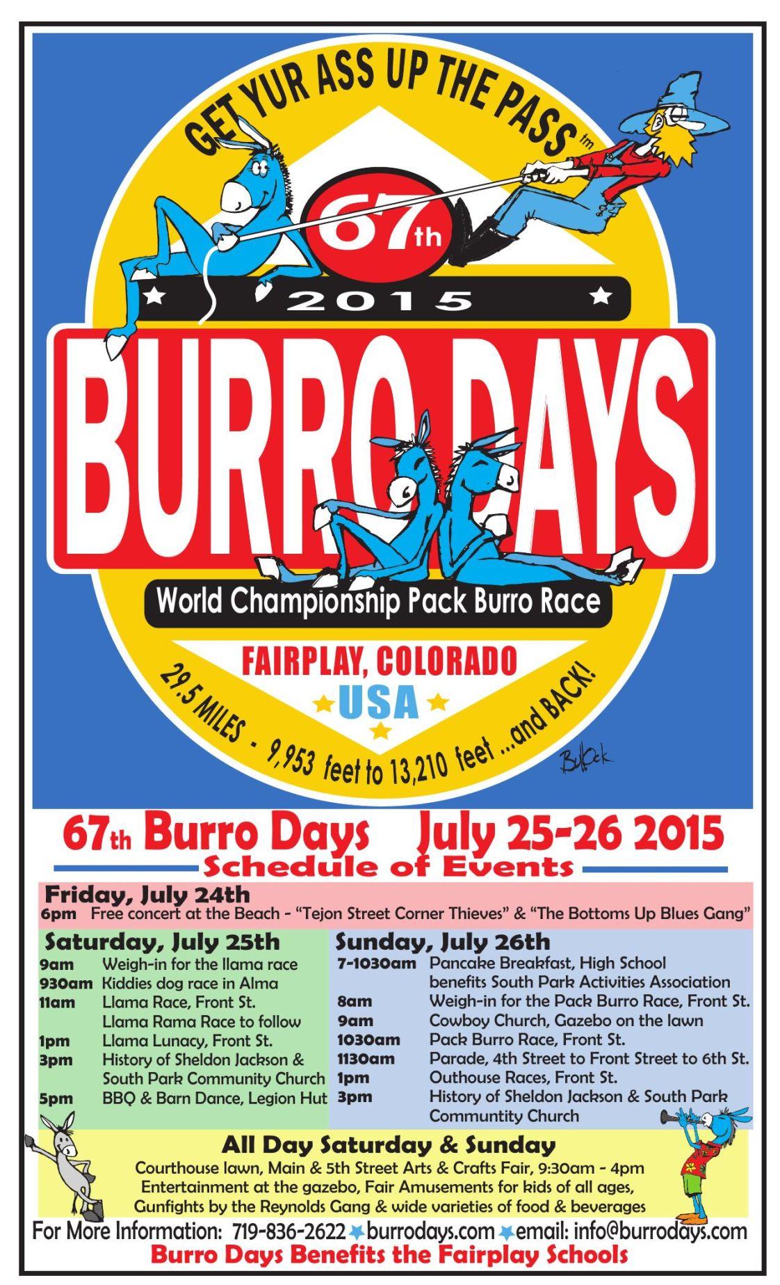 Burro days