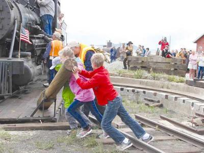 Push that train