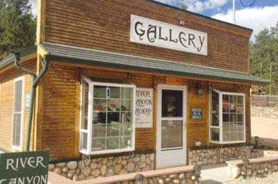 River Canyon GallerY on Main street in Bailey