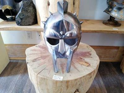 Medieval helmet for Christmas