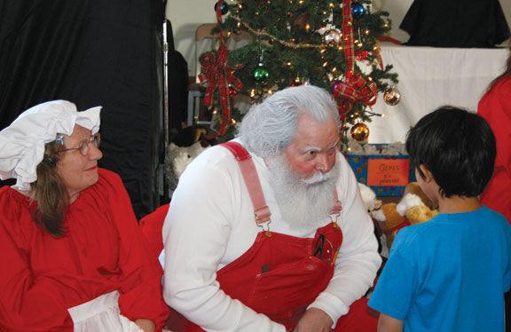 Santa at the Grange