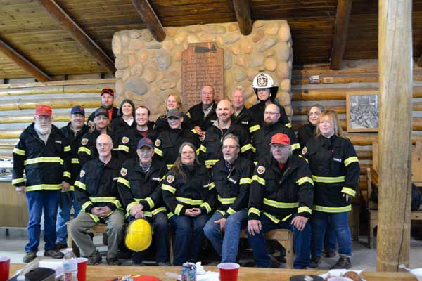 Lake George firefighters