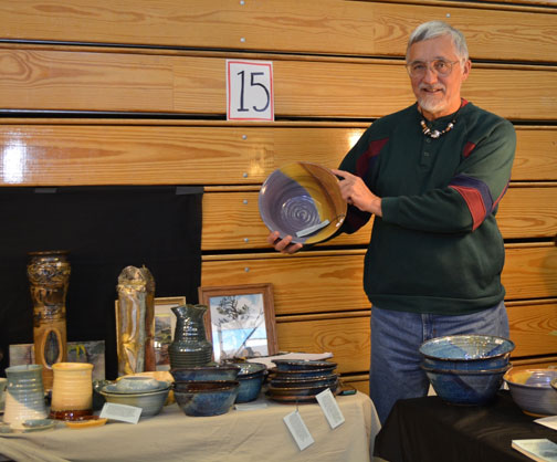 Shawnee Mountain Gallery Displays Wares