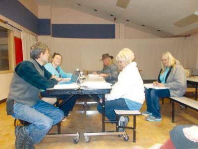 Guffey Community Charter School Board Meets