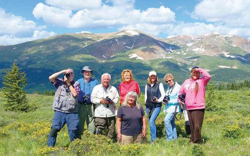 Group shot of camera club trip members