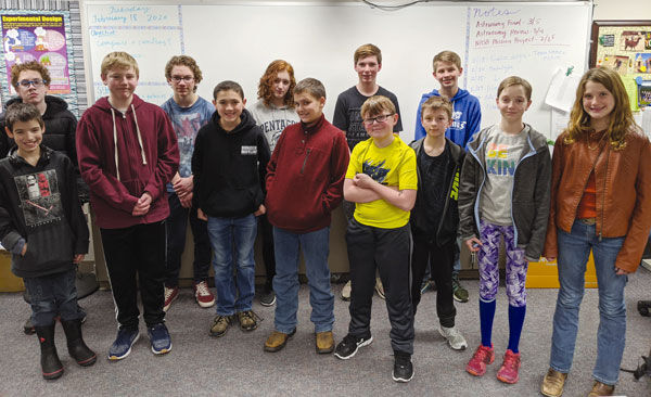 FMS students excel in NASA Wear Challenge