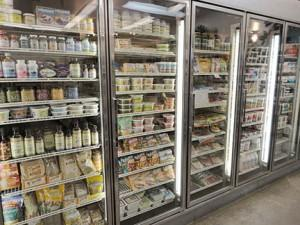Refrigerated cases