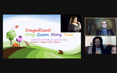 Center for Diversity and Inclusion hosts a virtual drag experience [Photo]