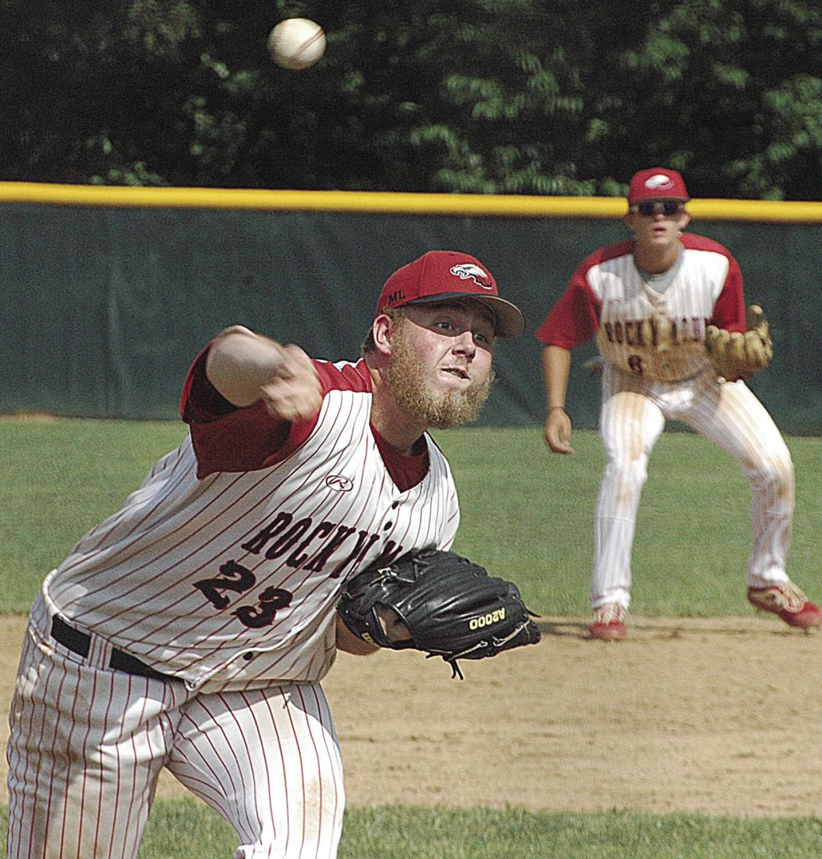American Legion Baseball Action