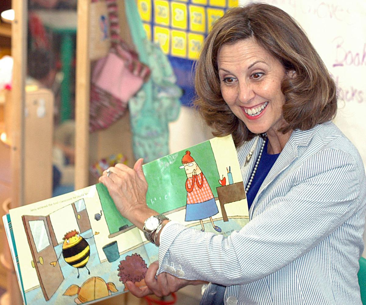 Pamela Northam at Rocky Mount Elementary