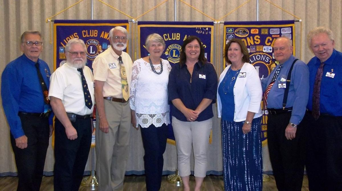 Moneta Lions new officers