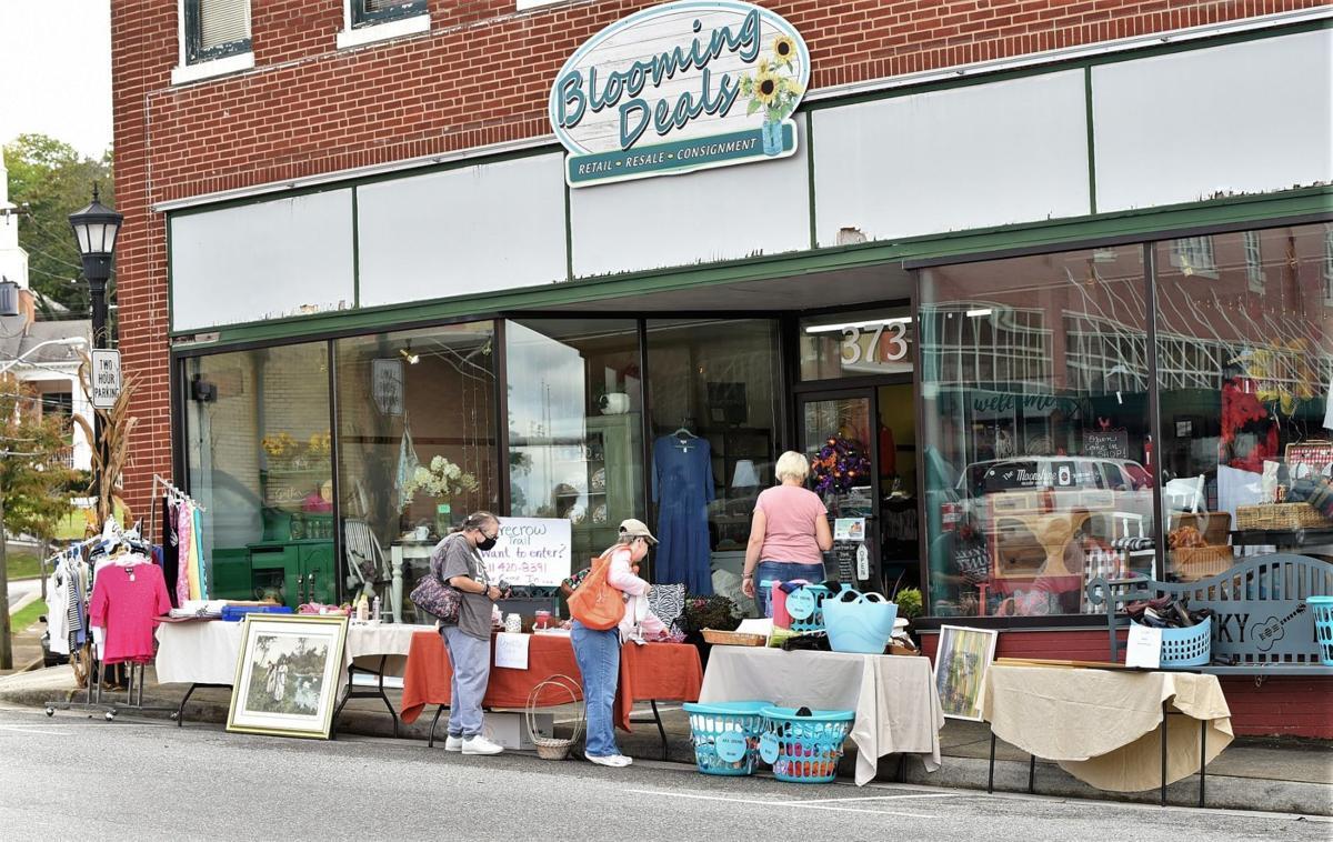 Sidewalk Sale Photo