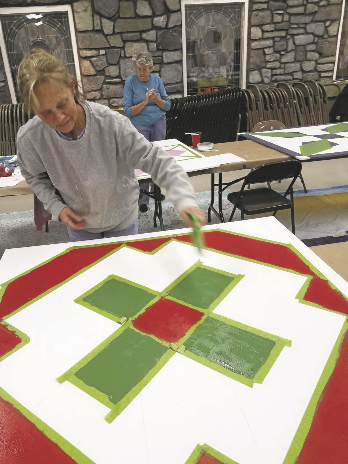 'Quilts' color the countryside