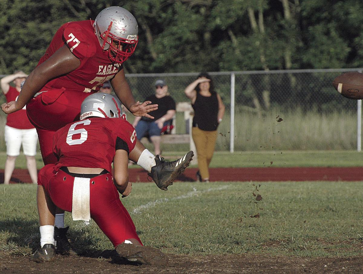 Franklin County, Patrick Henry jayvees scrimmage
