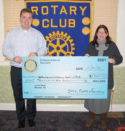 SML Rotary Donates to CAC
