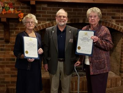Three honored for more than 150 years of Franklin County service