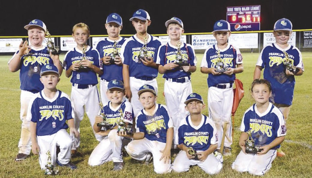 YOUTH BASEBALL: Franklin County club claims runner-up laurels