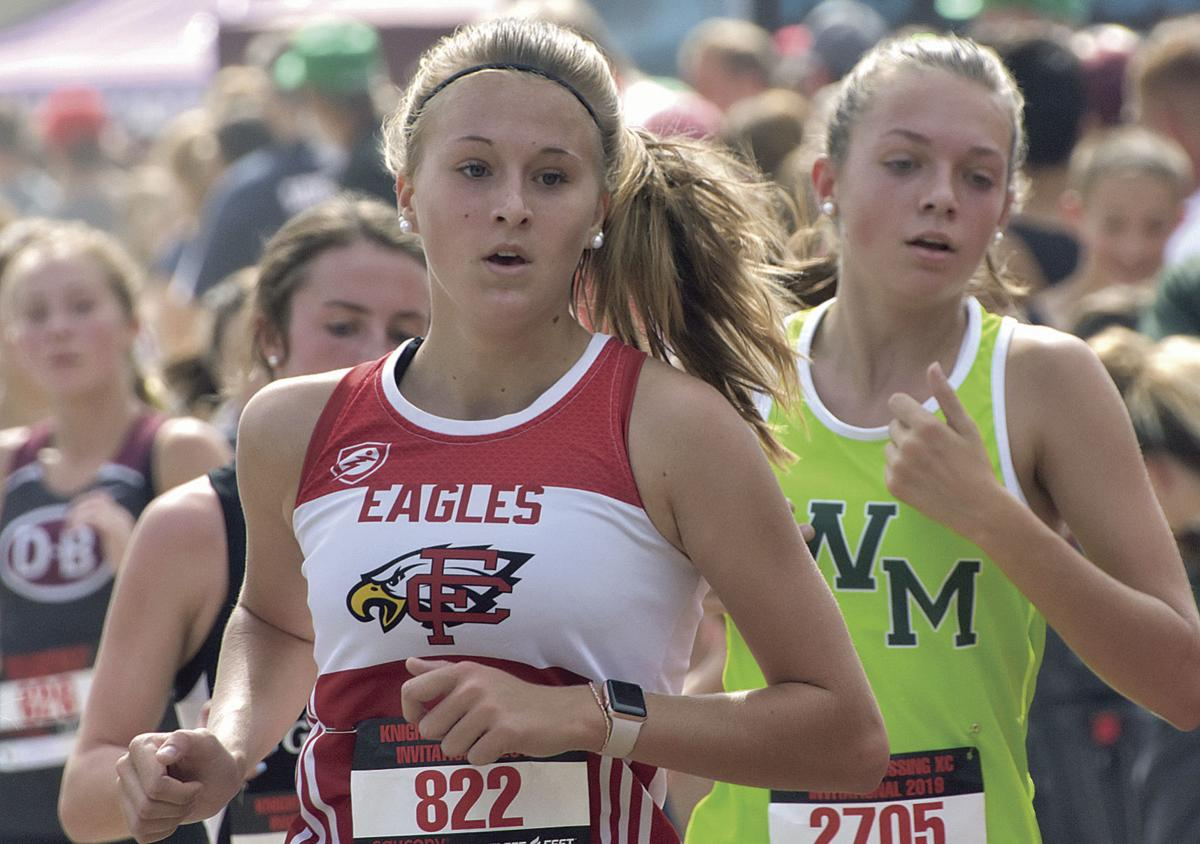 Eagles score cross country sweep