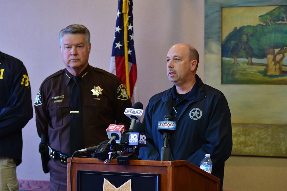 Michael Alexander Brown arrest