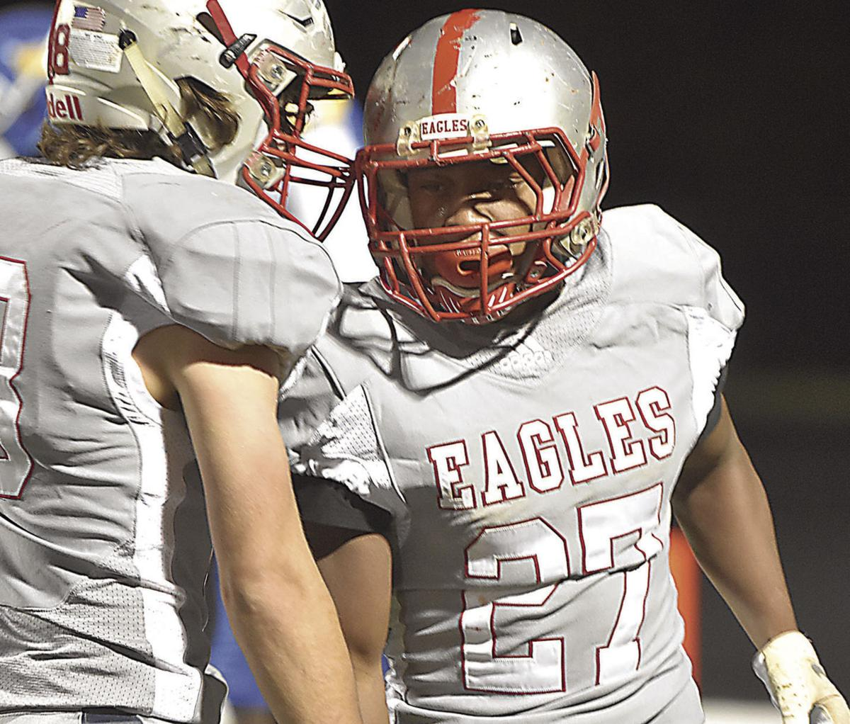Eagles seek winning season, possible home playoff game tonight.