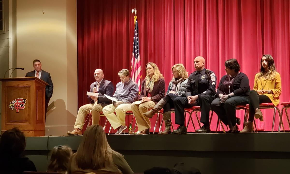 Franklin County school officials educate parents on the dangers of vaping