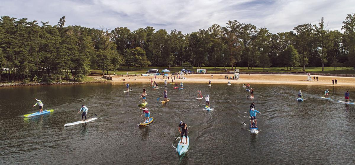 Five states are represented in Stand-Up Paddleboard Race