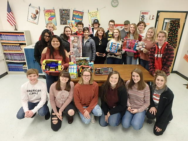 FCHS students hold toy drive for Ronald McDonald House