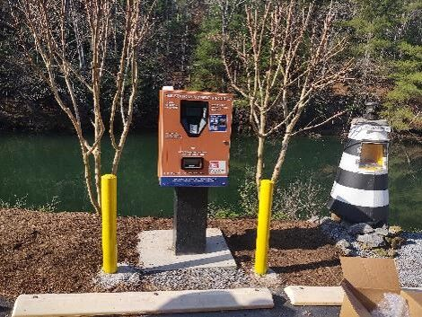 Philpott Lake gets new autopay machines