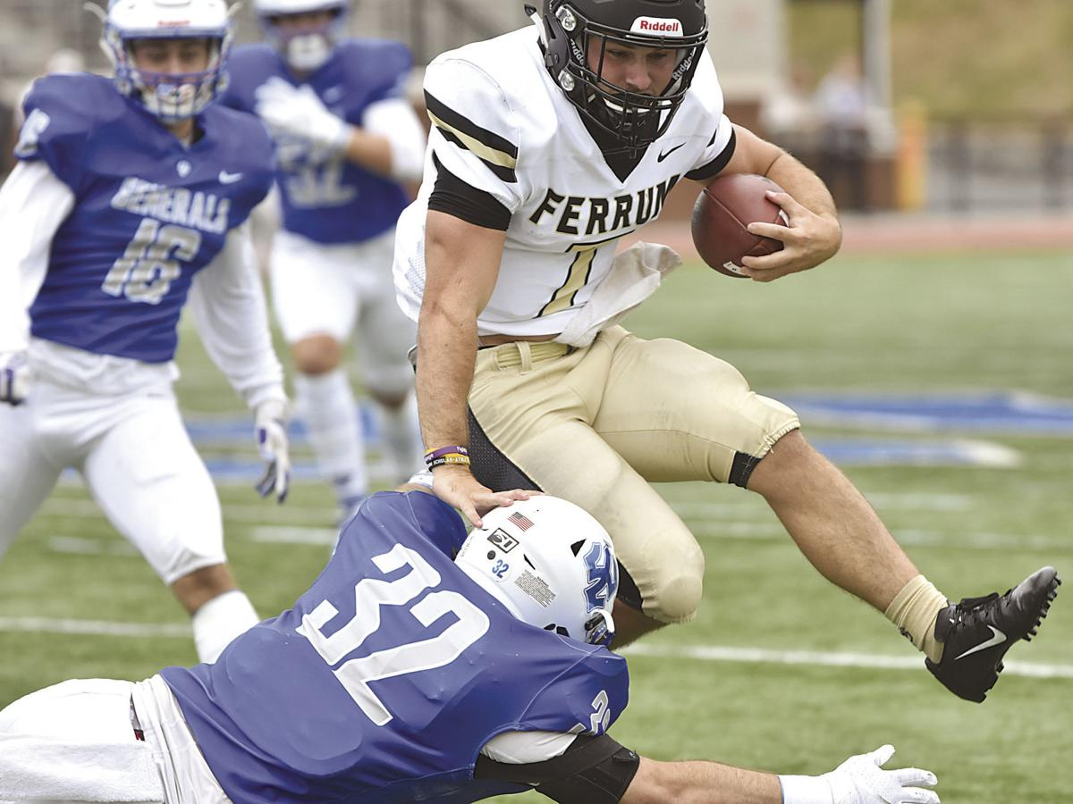 Generals issue marching orders to Panthers, win 30-10