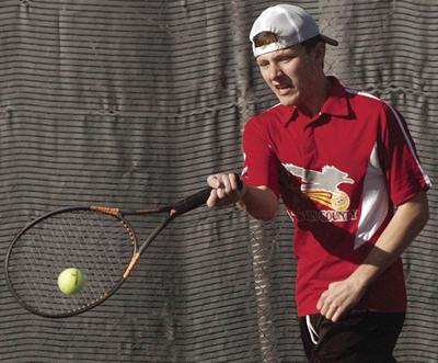 HIGH SCHOOL TENNIS: FCHS boys win fifth match of season, 6-3 over Bassett