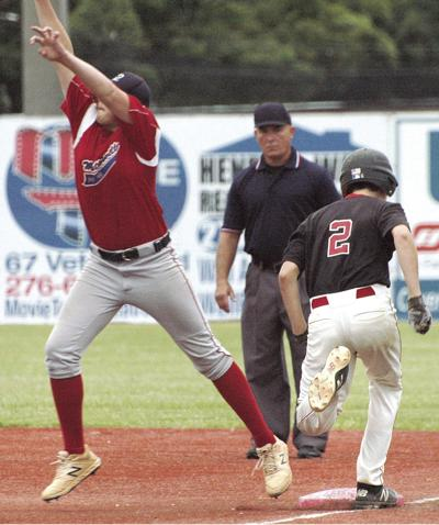 Post 42 Juniors reach state title game, fall to Winchester Post 21, 8-1