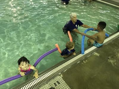 Preschool swim program makes a splash
