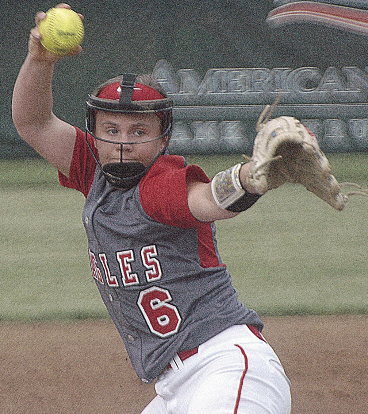 Eagles fall to Warriors in league softball match-up at home