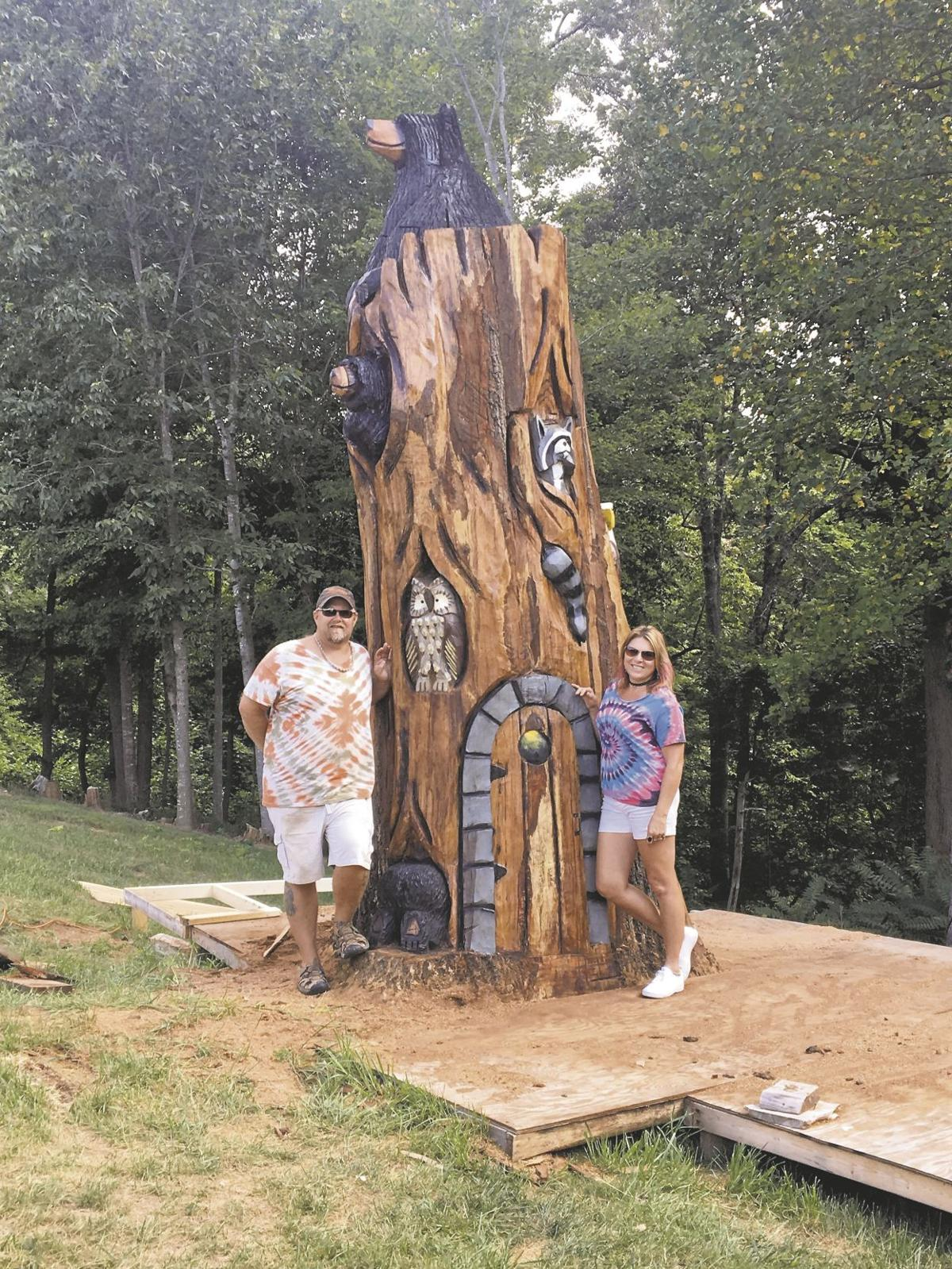 tree carving 1