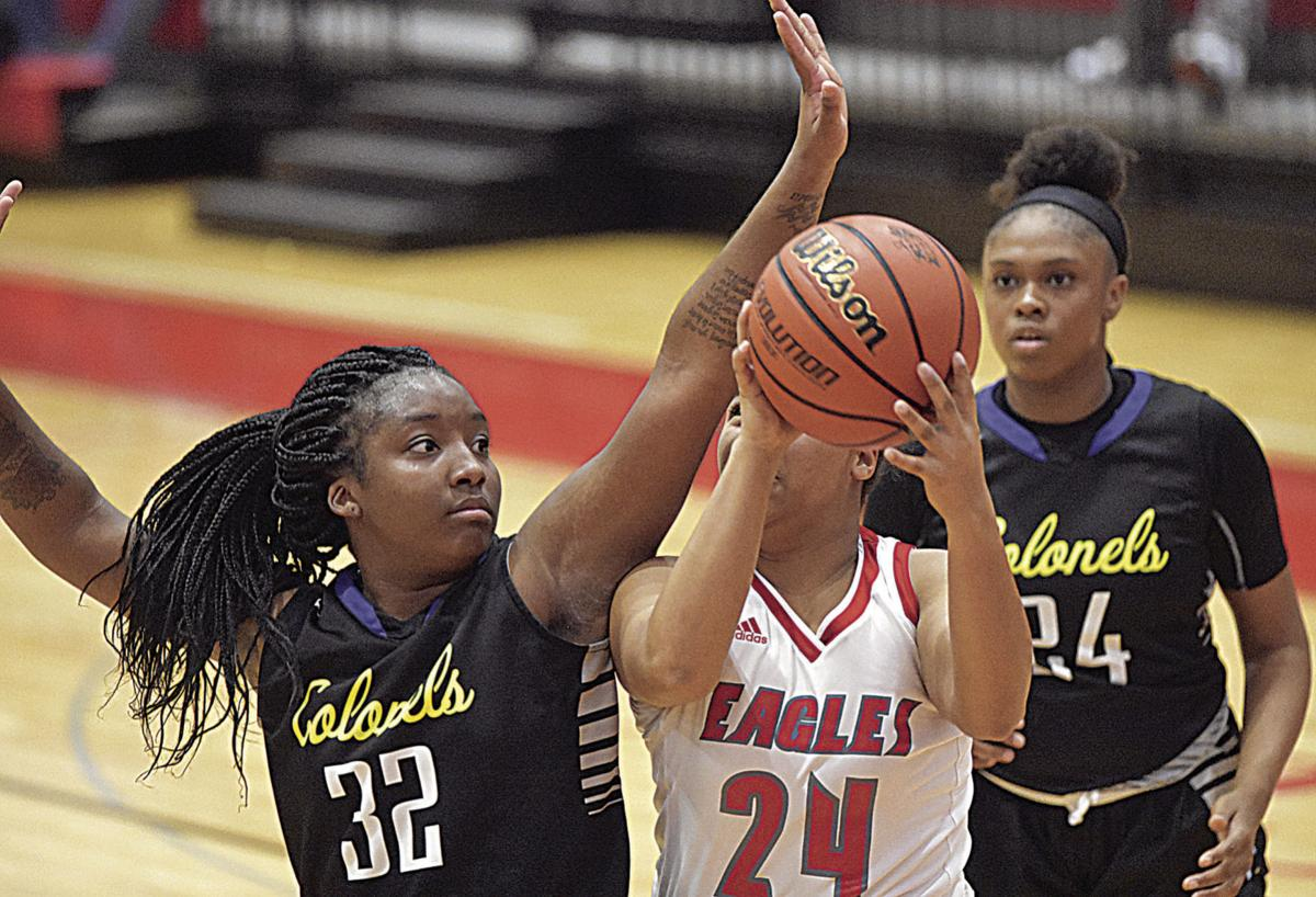Colonels extend winning streak with 11-point win over Eagles