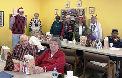Moneta Lions visit local dining center