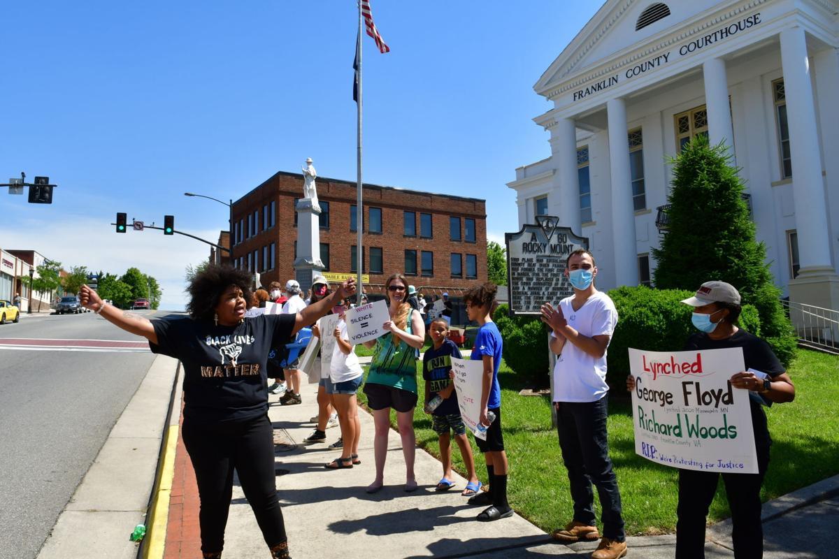 Black Lives Matter protest June 3-Bridgette
