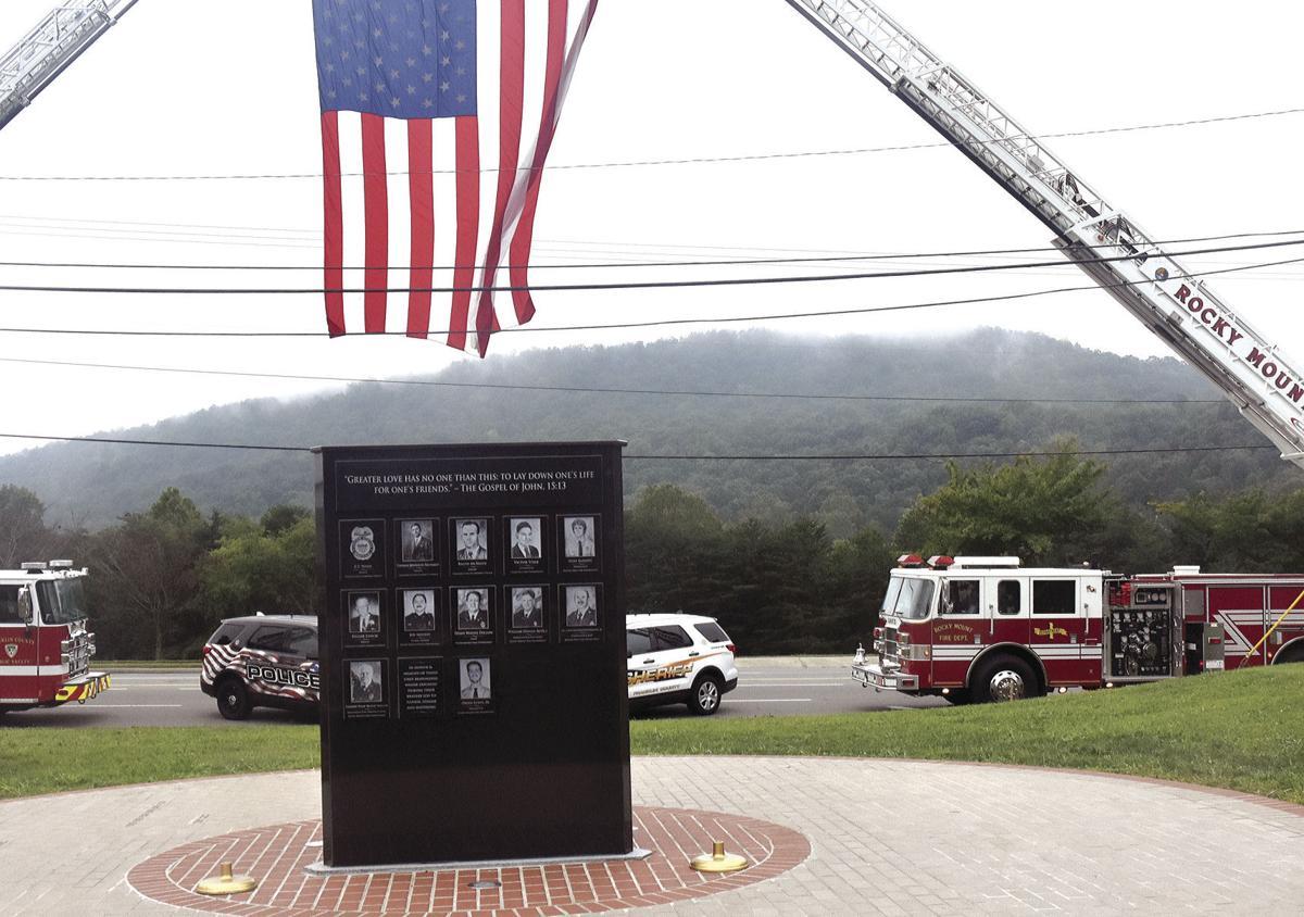 First Responders Memorial is dedicated