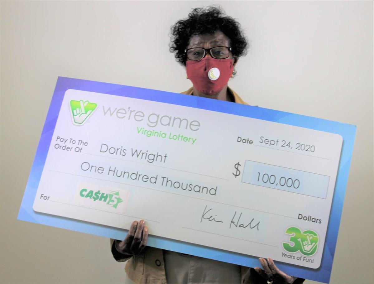Rocky Mount woman wins lottery
