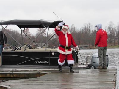 Santa at Smith Mountain Lake