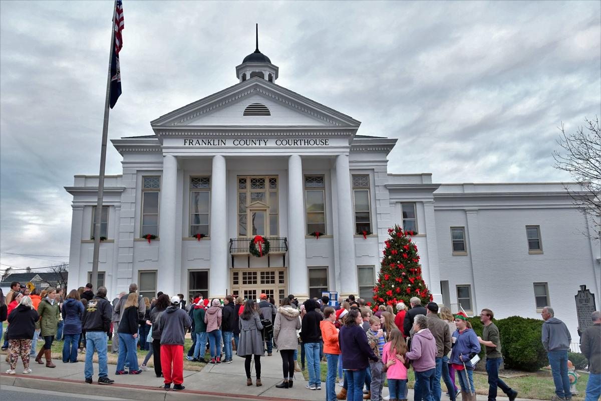 Franklin County lights up the holiday