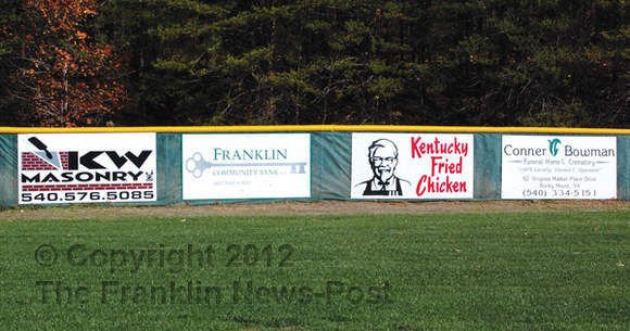 Advertising in baseball stadiums
