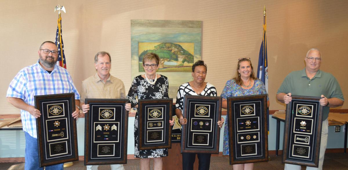 Sheriff's office honors retirees
