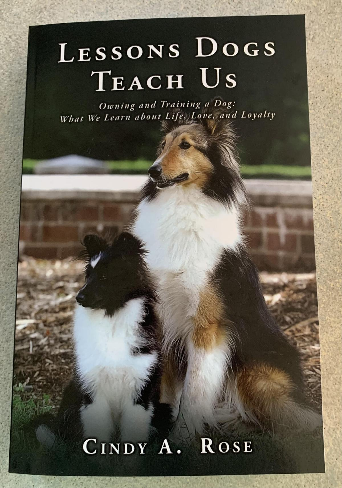 Glade Hill author shares insight about dogs in new book