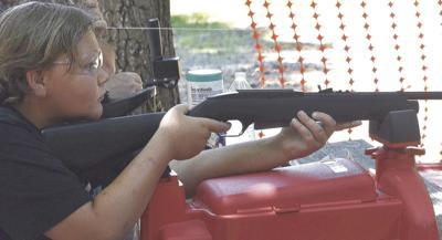 A SHOOTER'S AIM
