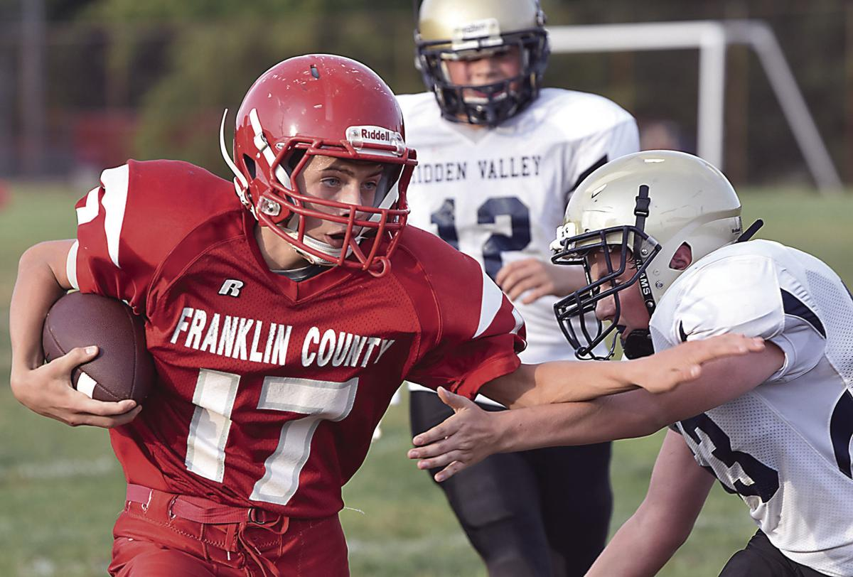 Eagles rout Hidden Valley for second straight win